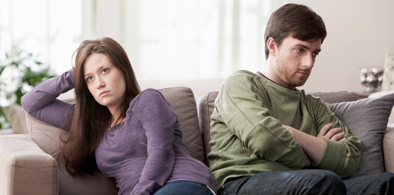 A párkapcsolat javítása helyett negatív érzések