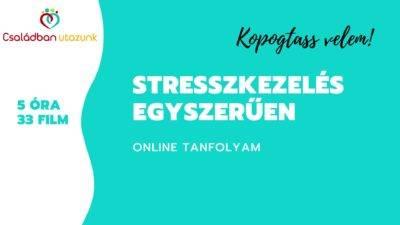 Stresszkezelés egyszerűen - online EFT tanfolyam