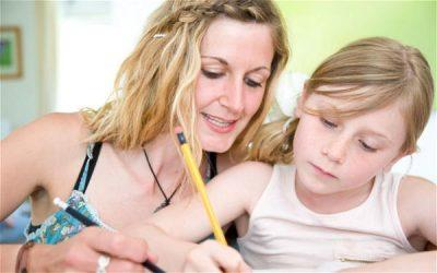 Szülő és gyermek együtt tanul